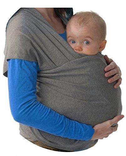 Babytragetuch ✮ elastisches Tragetuch Baby Carrier ✮ Tragetücher für Männer und Frauen ● Babytragen babytuch ● Halten Sie Ihr Baby am Herzen liegt