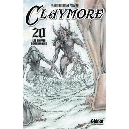 Claymore - Tome 20: Les griffes démoniaques