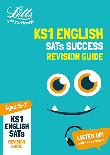 KS1 English SATs Revision Guide: for the 2019 tests (Letts KS1 SATs Success) (Letts KS1 Revision Success)