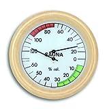 TFA 40.1006 Thermo-hygromètre pour sauna Cheveu synthétique (Import Allemagne)