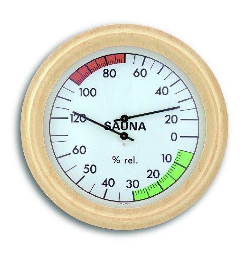 TFA-Dostmann - Termo-igrometro da sauna - Vasca Idromassaggio Termometro