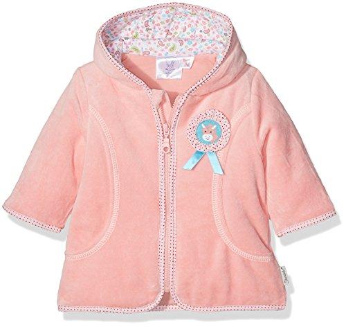 Sterntaler Baby-Mädchen Kapuzen-Jacke Nicki Peggy, Rosa (Light Coralle 708), 62 (Jacke Mädchen Neuheit)