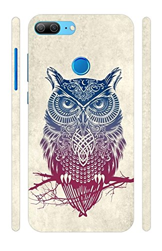cheap for discount 5b67f 269f3 Huawei Honor 9 Lite Unique Design Hard Plastic Back Cover with Excellent  Fitting by Vorson - Multicolor