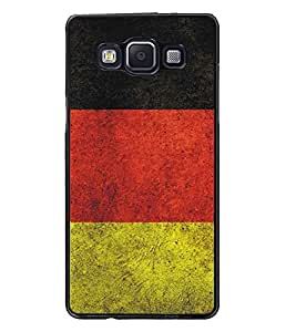 PrintDhaba Pattern D-5173 Back Case Cover for SAMSUNG GALAXY A5 (Multi-Coloured)