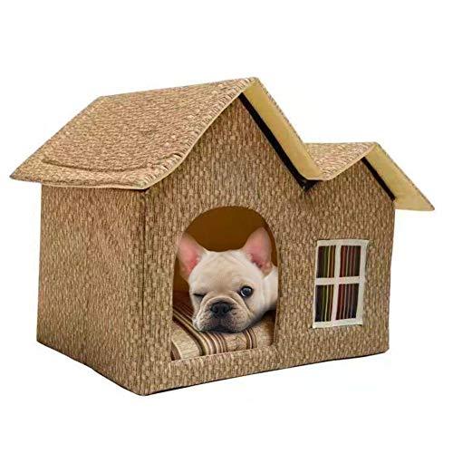 G-lucky casa Mascotas,Doble Tapa casa Perro,Gato