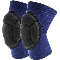 Qinlee Knieschoner Anti-Drop Kollision Knieorthese Baumwolle Bandagen Kniepolster Sport Ausbildung Tanz Knie Protektor