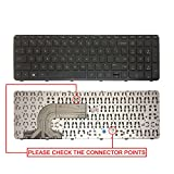 #1: Swiztek Lapmate HP Pavilion 15 15-E 15-G 15-N 15-R 15-S Series(Numeric) Laptop Keyboard With Frame