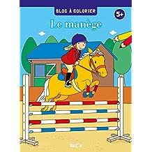 Bloc à colorier - chevaux et poneys