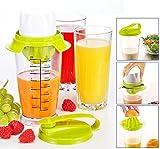 Multifunktions-Saftpresse - Zitruspresse und Entsafter für weiche Früchte in Einem - 12066