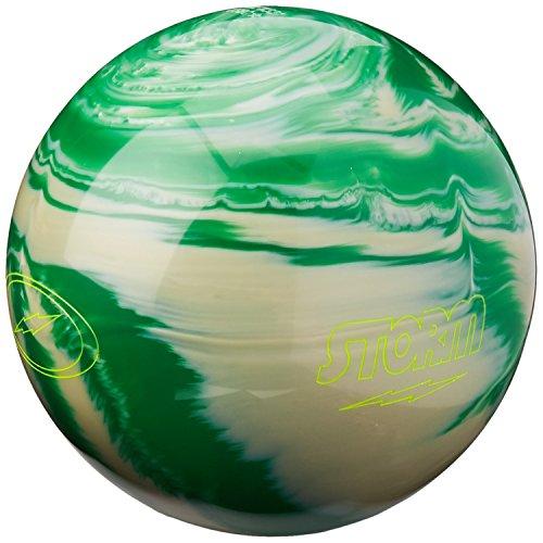 Storm Mix Bowling Ball Green/White, 6 lbs.