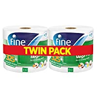 Fine, Paper Towel, Mega Roll, 325 meters, pack of 2, 3000 sheets