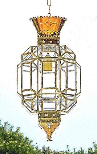 Faroles Artesanales Granadinos : Modelo AL-ANDALUS 423 de 37x80x37cms.
