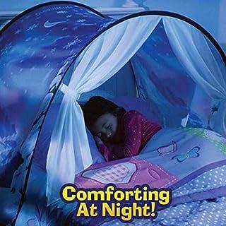 WYFDM Faltbare Galaxy Sternenhimmel Traum Zelt Kinder pop up Bett Zelt spielhaus, große Geschenke für Kinder, 80 * 220 cm