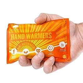 12 Paia Premium Scaldamani, Hand Warmers per Tasca o Guanti – Portatili e Universali – Fino a 10 Ore di Calore – Ideali per l'Inverno e le Attività all'Aperto, Sport, Lavoro, Sci, Trekking, Neve.