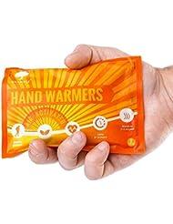 12 Paires Premium Chauffe-Mains, Hand Warmers -100% Naturel - Jusqu'à 10 Heures de Chaleur Apaisante (58°C) - Chauffe-Doits de Poche ou Gants  Confort Maximum en Hiver