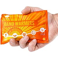 12 Pairs Premium Hand Warmers, Hand Heatpads - Safe, 100% Natural, Long Lasting Up to 10 Hours of Soothing Warmth - Air Activated Gloves Pocket Instant Warmers.
