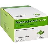 Magnesiocard 5 mmol Pulver 100 stk preisvergleich bei billige-tabletten.eu
