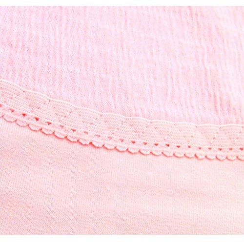 Vogue of Eden Women's Maternity Pregnant Underpants Adjustable Panties pink