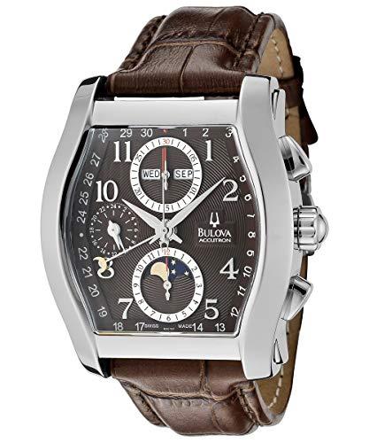 Orologio Uomo Bulova Automatico Cronografo Fasi Lunari Day Date Movimento Eta 7751 63C101