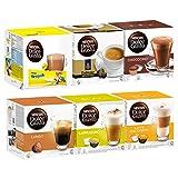 Unbekannt Nescafé Dolce Gusto Family Edition Set, Kaffee, Kaffeekapsel, 6 x 16 Kapseln