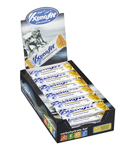 Xenofit Kohlenhydrat-Riegel carbohydrate bar, Ananas/Karotte, 24 x 68g