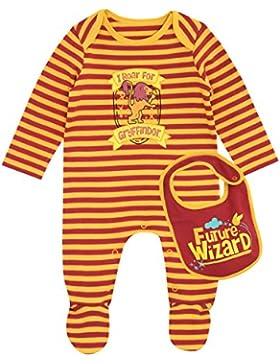 Harry Potter Baby Jungen Gryffindor Schlafstrampler mit latz