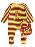 Harry Potter Baby Jungen Gryffindor Schlafstrampler mit latz 80