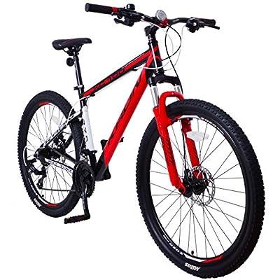 KRON XC-100 Hardtail Aluminium Mountainbike 26 Zoll 27.5 Zoll 29 Zoll   21 Gang Shimano Kettenschaltung mit Scheibenbremse oder V-Bremse   16 Zoll 18 Zoll 20 Zoll Rahmen MTB Erwachsenen- Jugendfahrrad