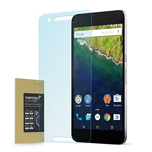 doupi Panzerfolie für HUAWEI Nexus 6P, Premium 9H Hartglas HD Display Schutz Glasfolie