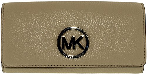 MICHAEL Michael Kors Fulton Carryall Wallet Cement