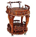 Aarsun Handcrafted Wooden Service/ Bar T...