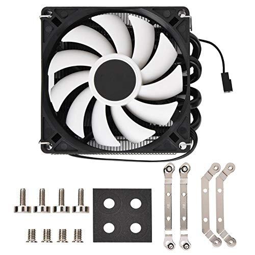 Silent Ultrathin ID-Cooling IS40x AM4 Heat Pipe ITX Down Pressure CPU-Kühler - Laptop Cooling-plattform
