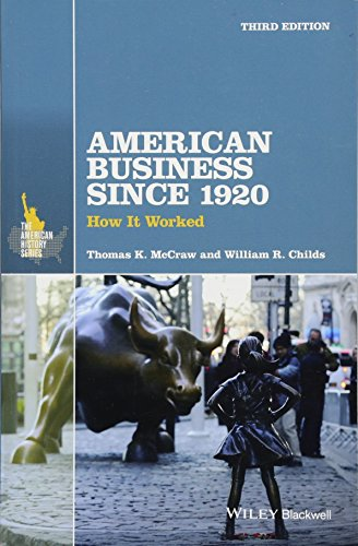 American Business Since 1920: How It Worked PDF Books