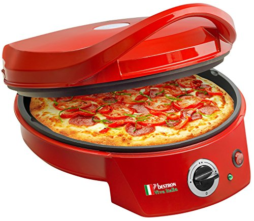 Bestron APZ400 Four à Pizza, Rouge
