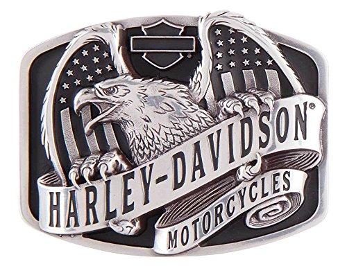 Preisvergleich Produktbild Harley-Davidson Gürtelschnalle wings over America