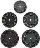 Advantus Metal Idea-Ology - Reloj de pared (1,25 a 1,75 pulgadas, níquel envejecido, latón y cobre, por Advantus)