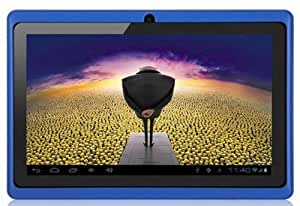 "Aome Tech Blue 7"" inch Touch Screen Dual core Allwinner A23 1.5GHz CPU Android 4.2.2 Tablet PC Dual camera 4GB HDD 512MB WiFi"