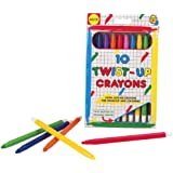 Alex Toys Twist Up Crayons - 10 Durable Plastic Mechanical Crayons (3 Years And Above)