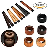 Beauty donut (5 pezzi) capelli, chignon Fashion Dly Magic Bun French Twist ciambelle fascia per capelli accessori capelli making styling disco attrezzo per ragazze