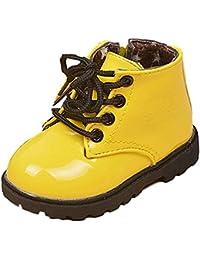 Malloom Bebé Invierno Niños Niñas Niño Ejército Estilo Martin Bota Zapatos Calientes Para 1-6 Años