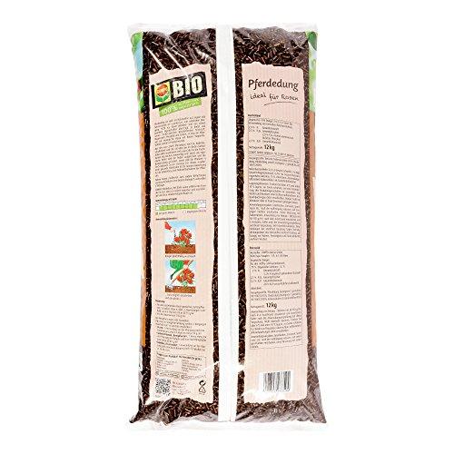 COMPO BIO Pferdedung, Organischer Nährstoffdünger für Rosen, 12 kg