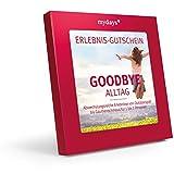 mydays Erlebnis-Gutschein | Goodbye Alltag | 50 Erlebnisse 380 Orte 1-2 Personen | Inklusive Geschenkbox