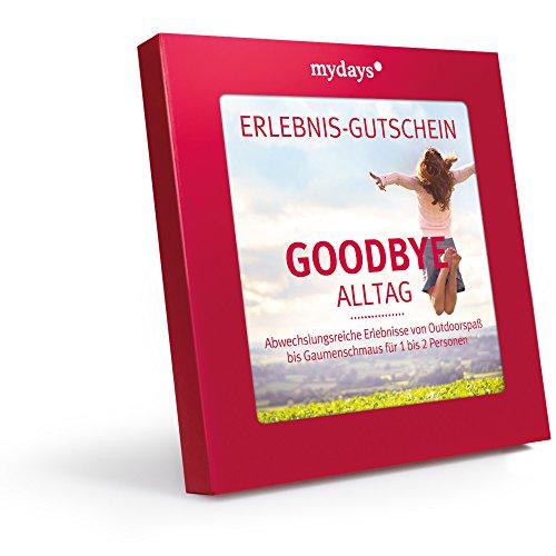 mydays Magic Box: Goodbye Alltag - Erlebnisgutschein - das perfekte Geschenk für ein außergewöhnliches Erlebnis