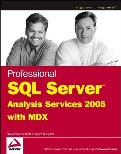 Professional SQL Server Analysis Services 2005 with MDX by Sivakumar Harinath (2006-05-30)