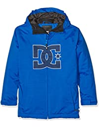 DC Shoes Story Youth - Chaqueta nieve para niño, color azul, talla L/