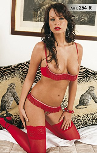 Sexy shop - Coordinato Rosso - sexy toys - articoli erotici