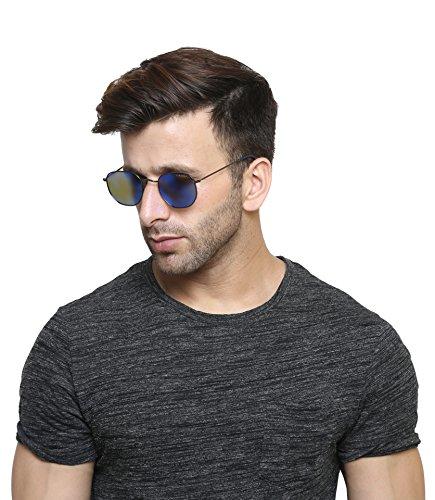 Farenheit Polarized Square Unisex Sunglasses ̵...