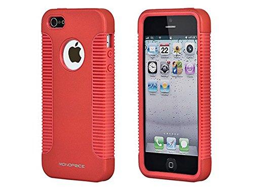 monoprice-sure-grip-custodia-in-tpu-pc-per-iphone-5-5s-colore-rosso