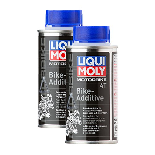2x LIQUI MOLY 1581 Motorbike 4T Bike Motoröl Additiv 125 mL