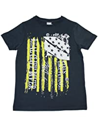 Stummer Jungen T-Shirt Real cliff diver total eclipse